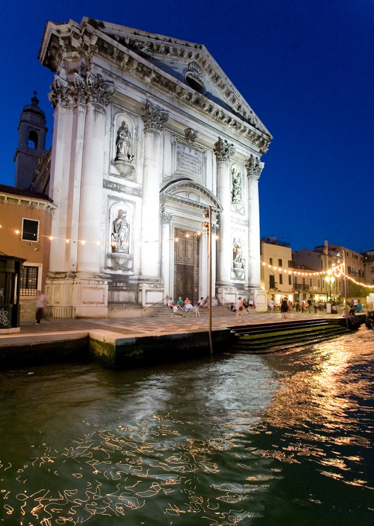 Learn Italian Manchester Venice night